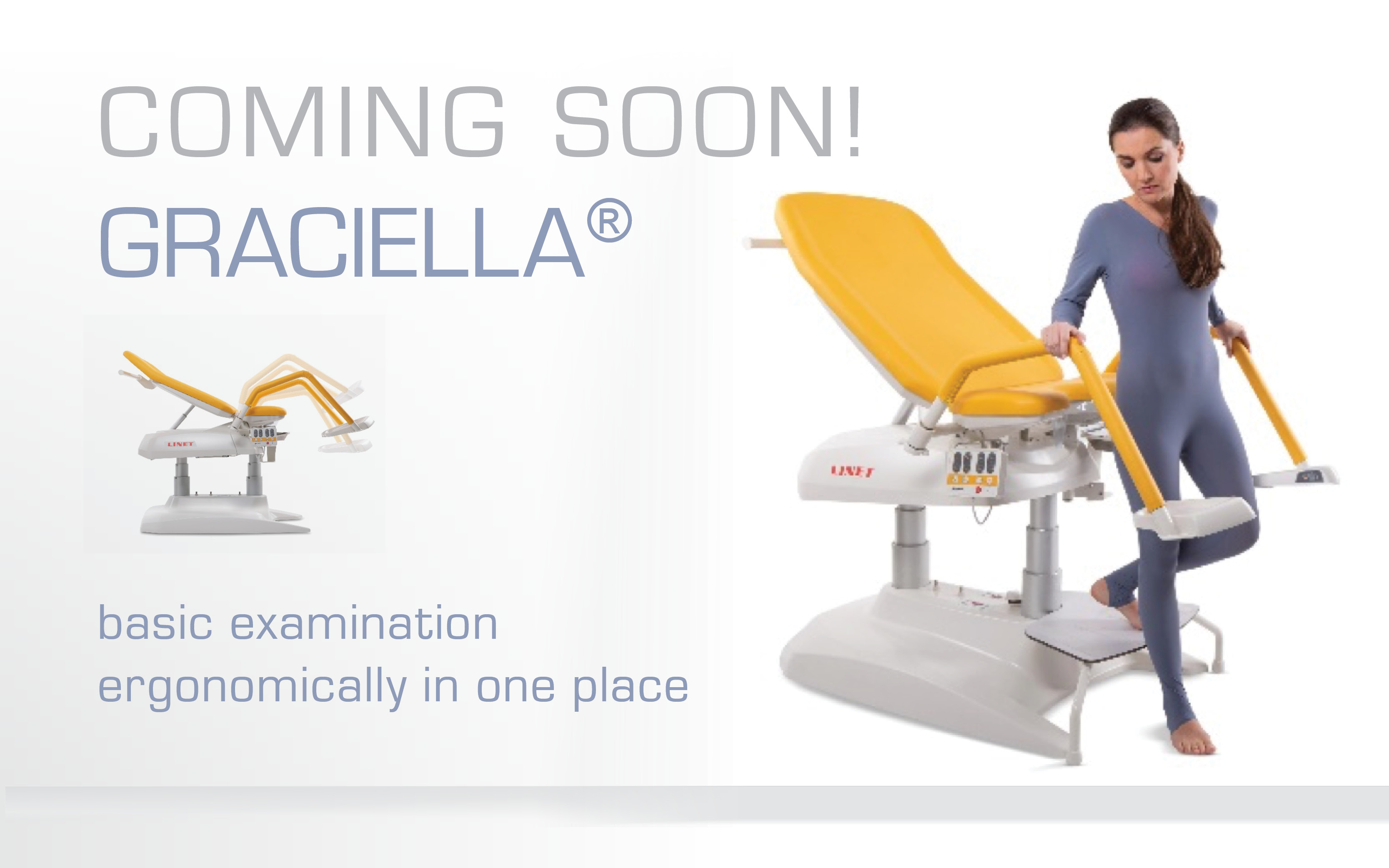 Coming soon - graciella examination couch - gyneacology