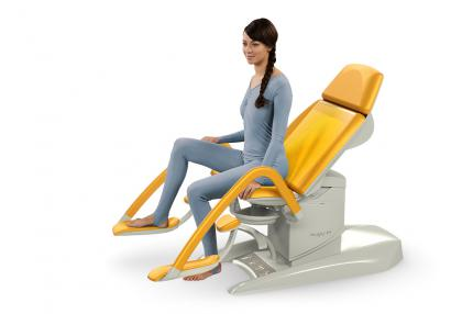 Gracie Hd With Integrated Hd Colposcope Examination Couch